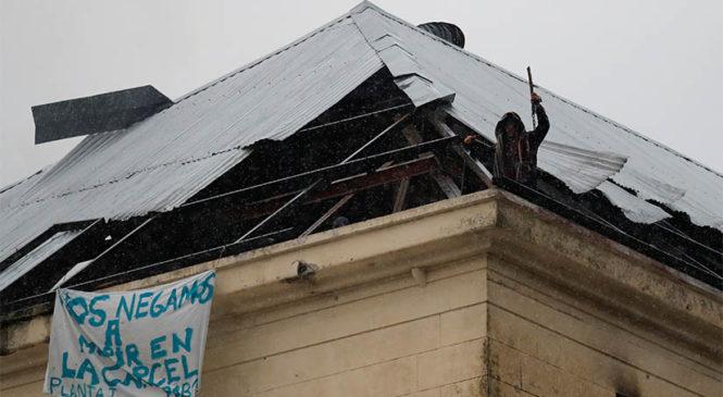 """""""Basta de represión en las cárceles: respuesta a los reclamos ya"""""""