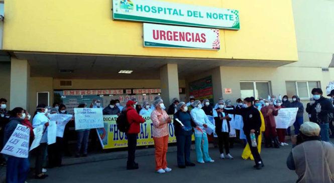 Se multiplican las manifestaciones en Bolivia del personal de salud y de la población