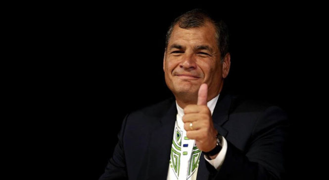 Repudian sentencia contra expresidente ecuatoriano Rafael Correa