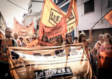 Santa Fe: Paro en centros de salud y Samcos sin internación el miércoles