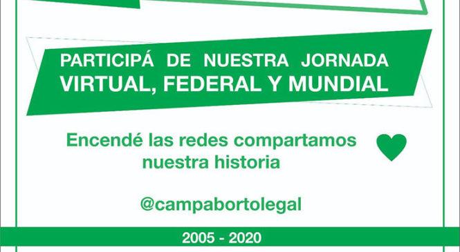 15 años de la Campaña Nacional por el Derecho al Aborto Legal, Seguro y Gratuito