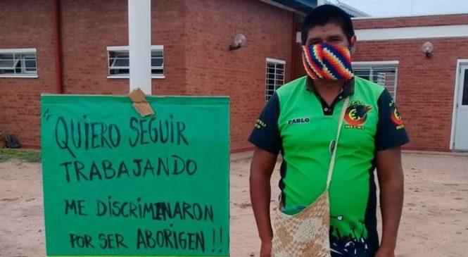 Chaco: traductor bilingüe lleva más de 15 días de acampe frente al hospital de Castelli