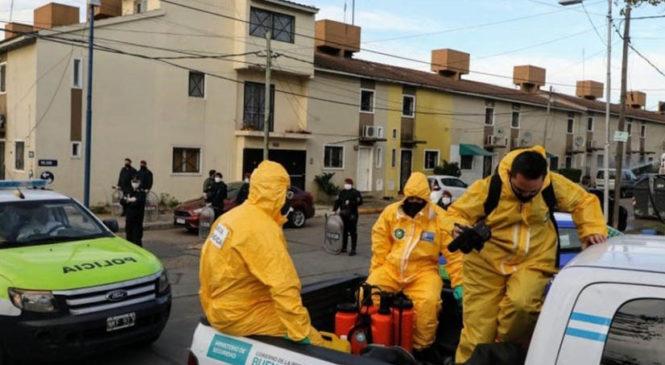 """""""La militarización de los barrios no puede ser la respuesta para combatir la pandemia"""""""