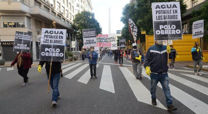 El Polo Obrero movilizó en el Día del Trabajador