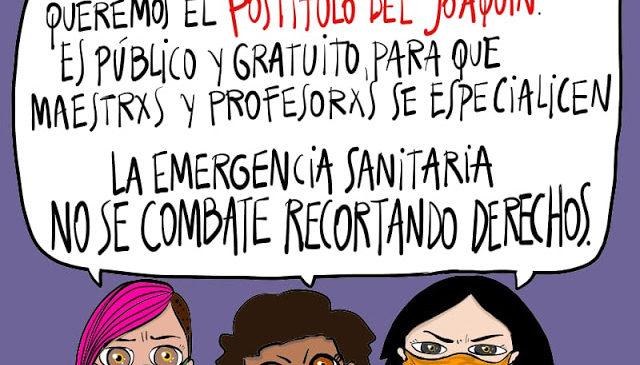 """""""Durmieron el proyecto del Postítulo de ESI en un cajón"""""""
