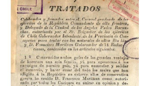 Los Tratados del Pueblo Nación Mapuche y las violaciones del Estado chileno