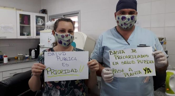 Salud: Jornada nacional de lucha por paritarias y protección