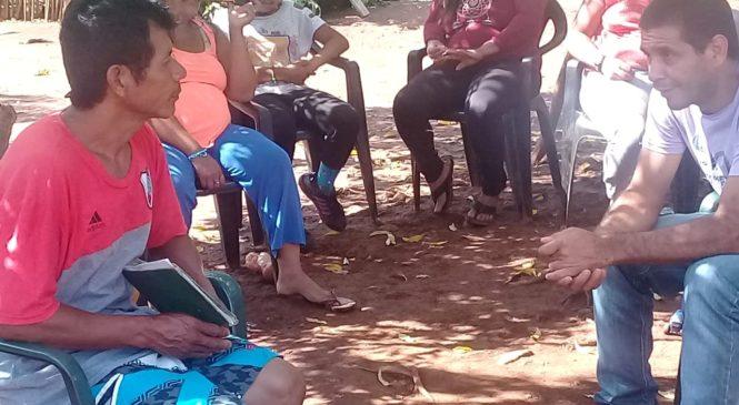 San Vicente: Nueve comunidades mbya guaraní reclaman alimentos, agua, luz y centros de salud