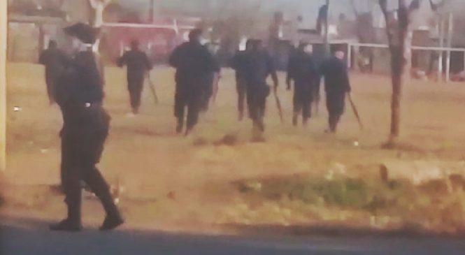 Rosario: decenas de heridos y dos detenidos durante desalojo en barrio Toba