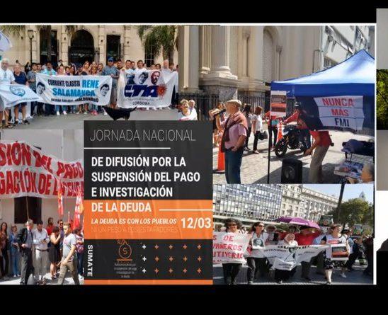 """""""La Deuda o el Pueblo"""": organizaciones autoconvocadas iniciarán un Juicio Popular"""