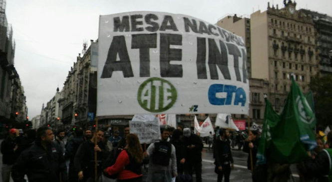 """Trabajadores del INTA rechazaron """"el ajuste sobre estatales"""""""