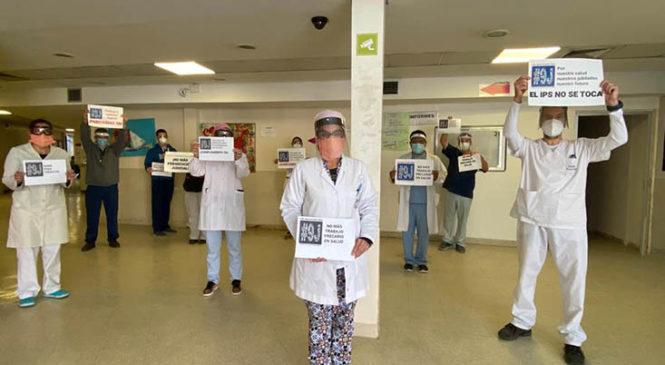"""Escobar: """"Ni un trabajador infectado más en el Hospital Erill"""""""