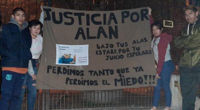 Prisión preventiva para el policía que mató por la espalda a Alan Maidana