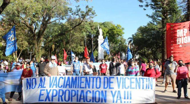 Jornada nacional de lucha por la expropiación de Vicentin