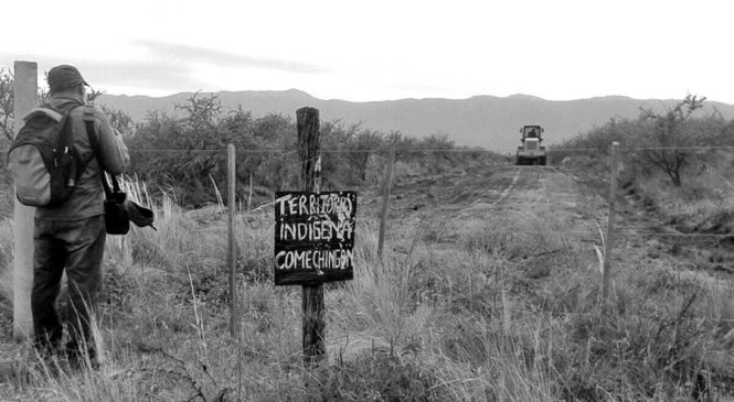"""Comunidad comechingón resiste ante la """"prepotencia y afán de lucro"""" de privados"""
