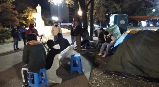 Justicia para Javier Chocobar: 9° día de asamblea comunitaria permanente