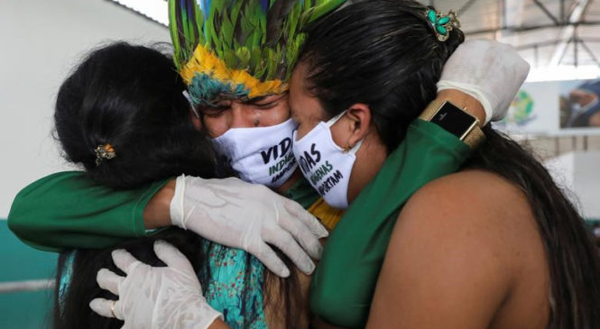 Myrna Cunningham y Patricia Gualinga ante la emergencia sanitaria de los Pueblos Indígenas de Abya Yala