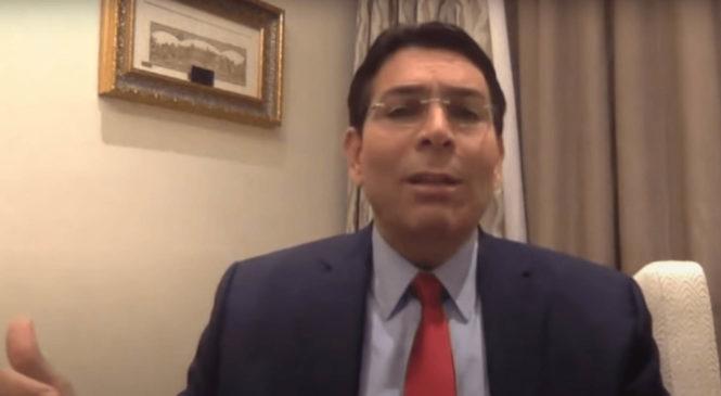 """Embajador de Israel: """"Tenemos derechos bíblicos sobre la tierra, la Biblia es nuestra escritura"""""""