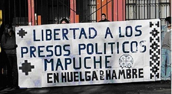 Chile: Organizaciones de Pueblos Originarios exigen justicia para los Presos Mapuche en huelga de hambre