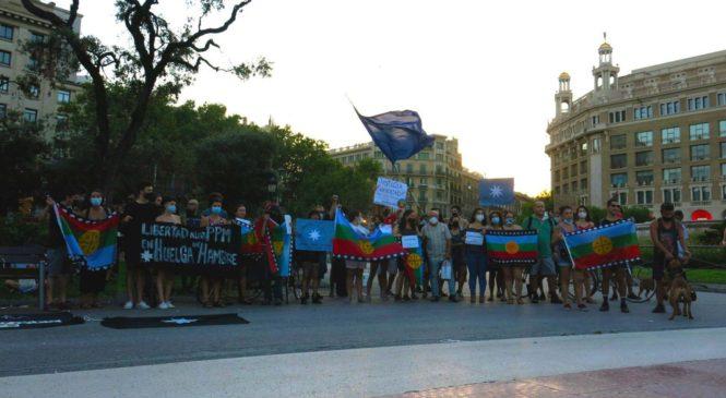 Acciones solidarias en Europa por la libertad, justicia y dignidad del Pueblo Mapuche