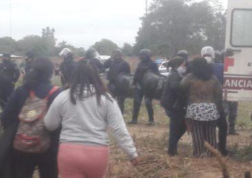 Piden la libertad de la comunera guaraní de Colonia Santa Rosa