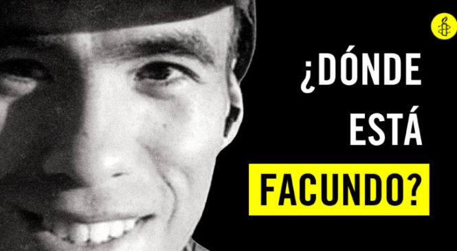 Impulsan una acción global para exigir la aparición de Facundo