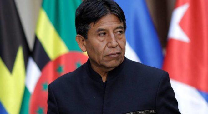 """David Choquehuanca: """"El pueblo boliviano ha perdido el miedo"""""""