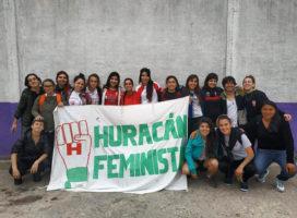 Feminismo en el fútbol: la experiencia en el club Huracán