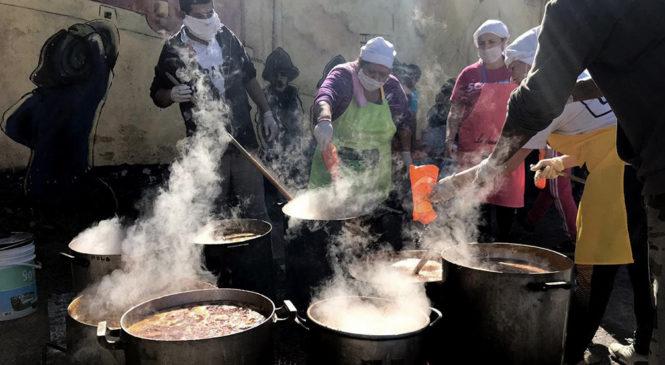 Séptima semana consecutiva de reclamos con ollas populares en la Ciudad