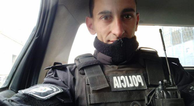 Prisión preventiva para el policía de Zárate que golpeó brutalmente con una linga a un joven