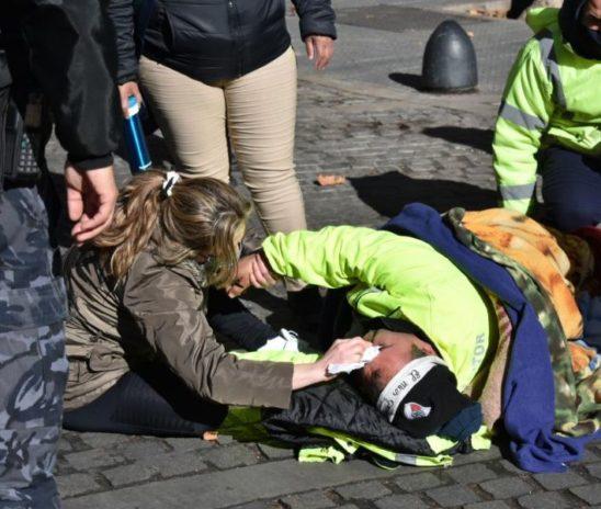 Brutal represión contra trabajadores municipales en Mendoza