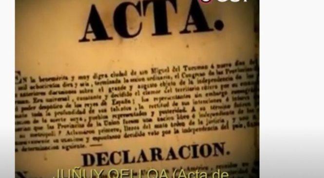 """""""Juñuy Qellqa"""", el Acta de la Declaración de la Independencia leída en quechua"""