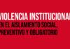 """APDH presentó el informe """"Violencia Institucional durante el Aislamiento Social, Preventivo y Obligatorio"""""""