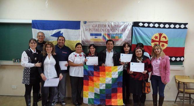 Sonia Ivanoff y la Cátedra Libre de Pueblos Originarios en la Universidad de la Patagonia San Juan Bosco