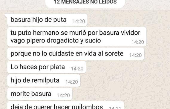 Repudio a las amenazas a Sergio Maldonado