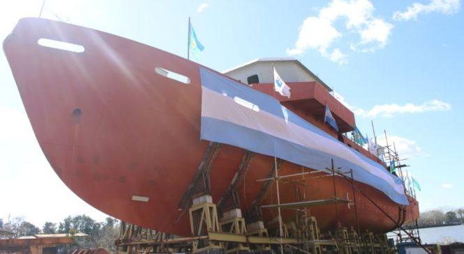 Tras años de resistencia, se reactivan obras navales en el Astillero Río Santiago