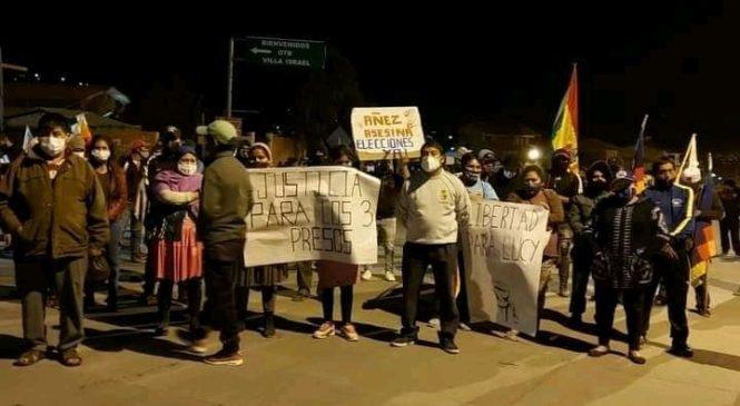 Bolivia: empezó la huelga y el gobierno de facto respondió con represión