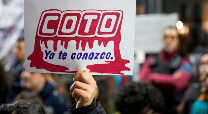 """""""COTO es pandemia"""""""