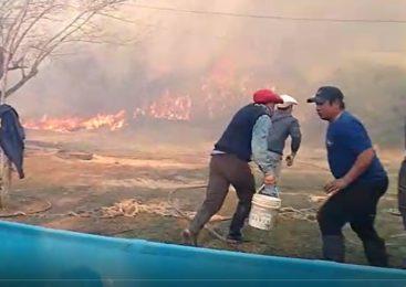 Incendios en las islas del Paraná: dramática situación de pobladores