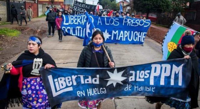 La peligrosa huelga seca de los presos políticos mapuche
