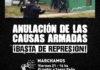 21/8: Marcha contra la represión policial en Ensenada