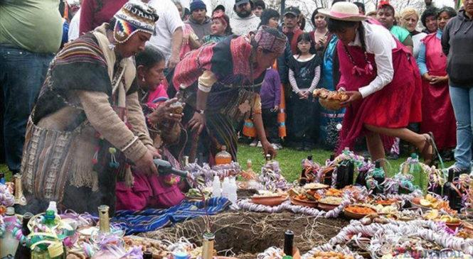 1° de agosto, Día de la Pachamama
