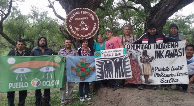 Jujuy: comunidad ocloya denuncia que terratenientes quieren quitarle las tierras