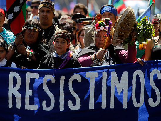 Chile: Amplias manifestaciones por la Nación Mapuche ante horda racista
