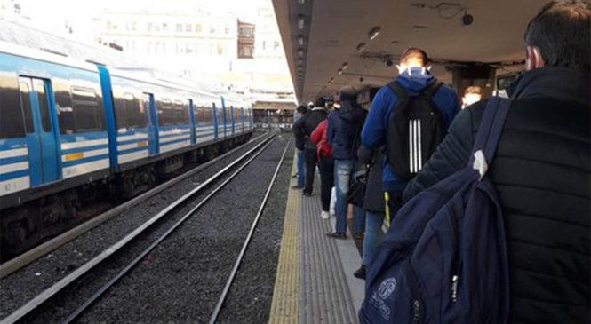 COVID-19: Contagio masivo de trabajadores ferroviarios de la línea Sarmiento
