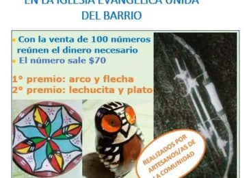 La Plata: sorteo para construir una estufa solidaria en la Comunidad Qom Dalaxaic' Na'ac'