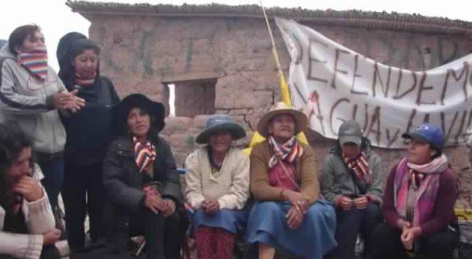 Comunidad Cueva del Inca de Jujuy: le niegan el acceso al agua y a la electricidad