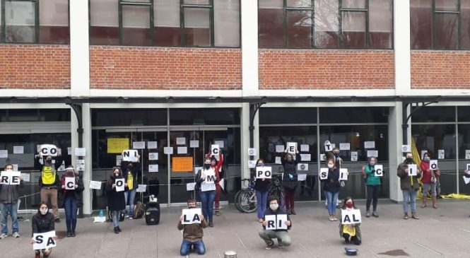 Jornada nacional de lucha de trabajadores del CONICET por paritarias y CCT