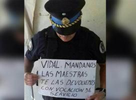 Contra la asonada policial tolerada por el gobierno: Unidad de lxs que luchan