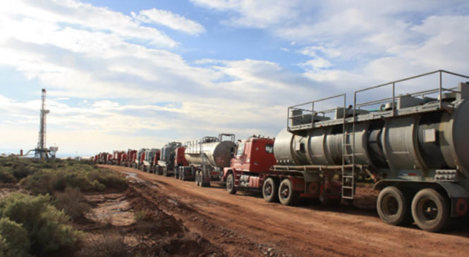 ¿Vuelve el fracking al Área Natural Protegida Auca Mahuida?